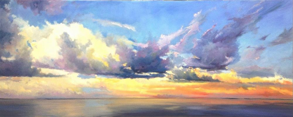 """Heavenly"" original fine art by Cathy Boyd"