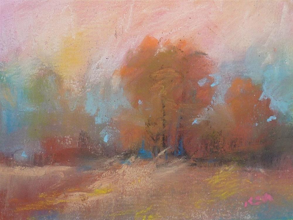 """Tips for Using A Limited Pastel Palette"" original fine art by Karen Margulis"