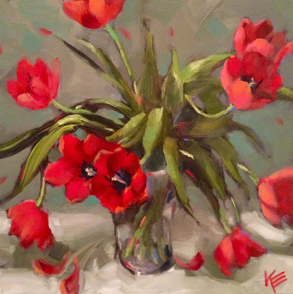 """Spontaneous Springtime"" original fine art by Krista Eaton"