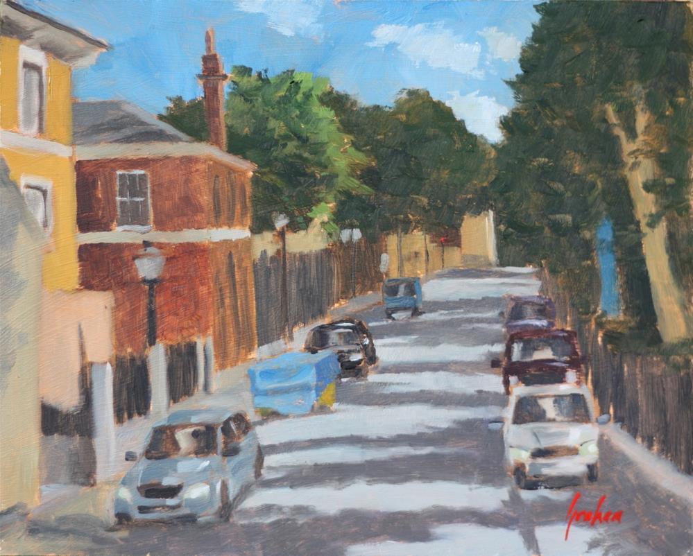 """Park Row SE10"" original fine art by Graham Townsend"