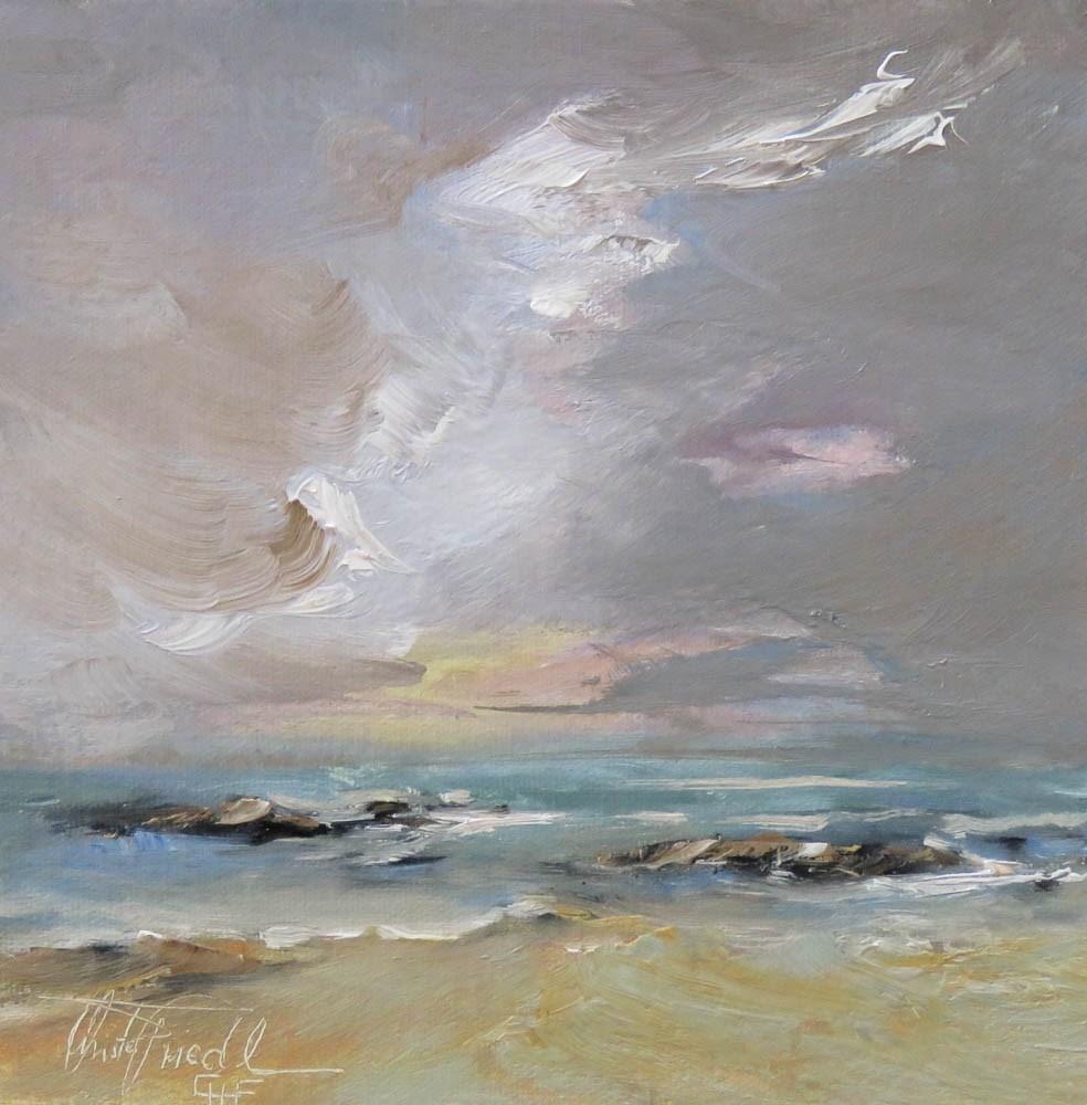 """""""approaching storm"""" original fine art by Christa Friedl"""