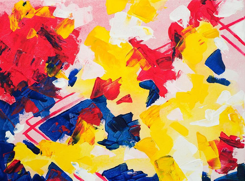 """Primary Love"" original fine art by Franziska Schwade"