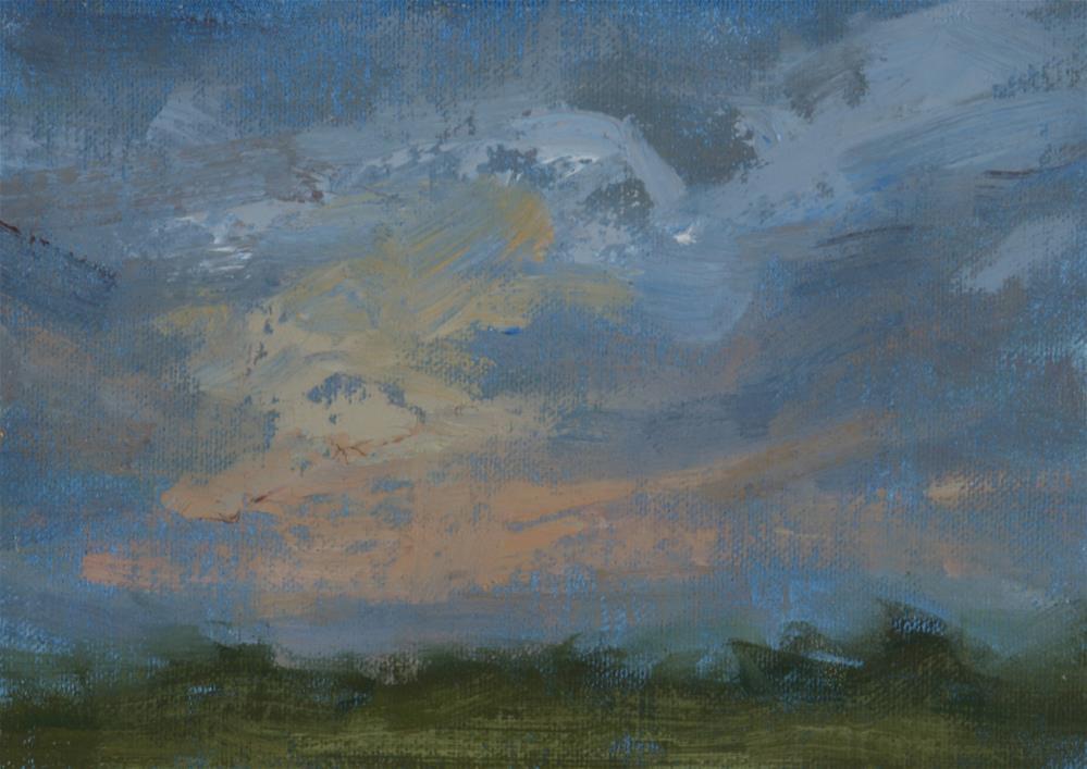 """Summer Sunrise 03"" original fine art by Scott Serafica"