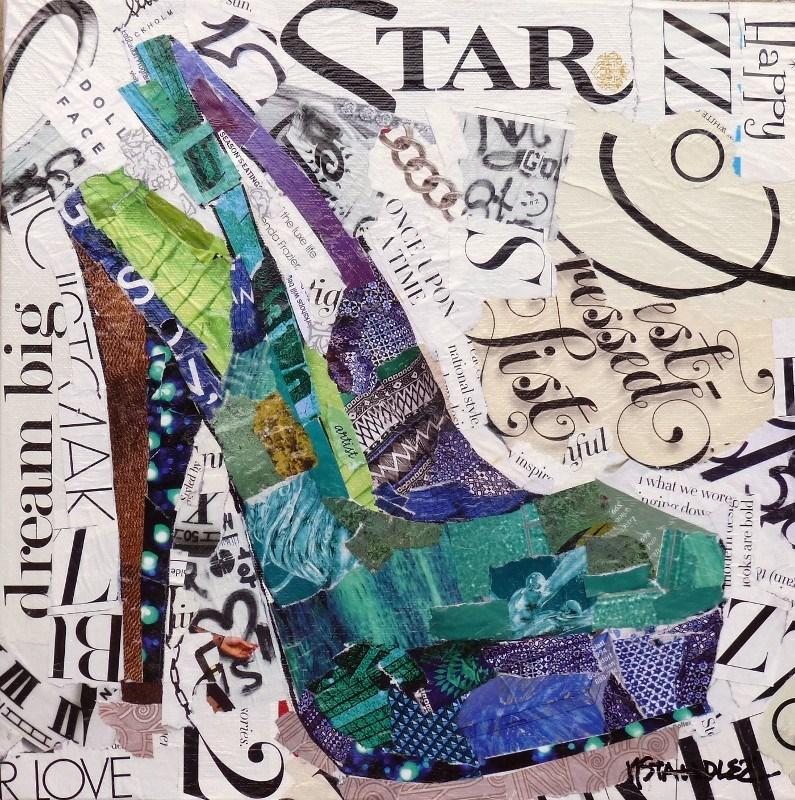 """Dream Big 13058"" original fine art by Nancy Standlee"