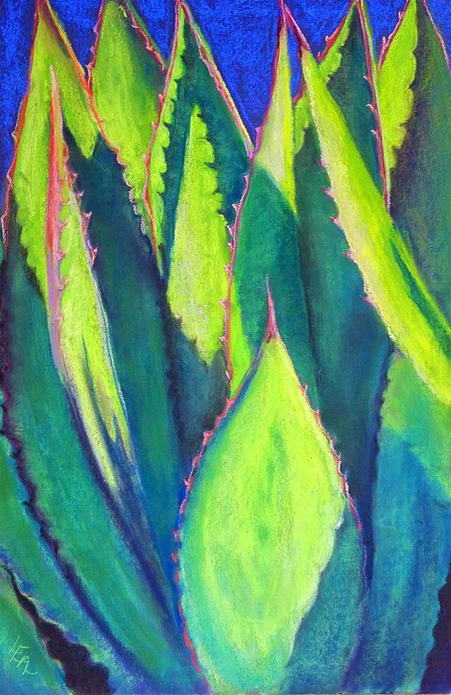 """Splendor at Sunrise"" original fine art by Anna Lisa Leal"