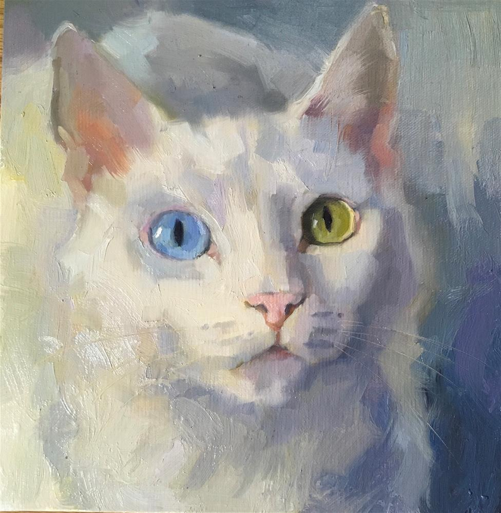 """Adopt310"" original fine art by Katya Minkina"