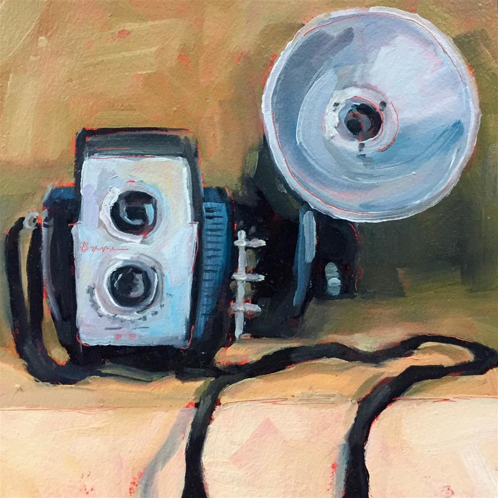 """""""Vintage Brownie"""" original fine art by Lisa Sotero"""
