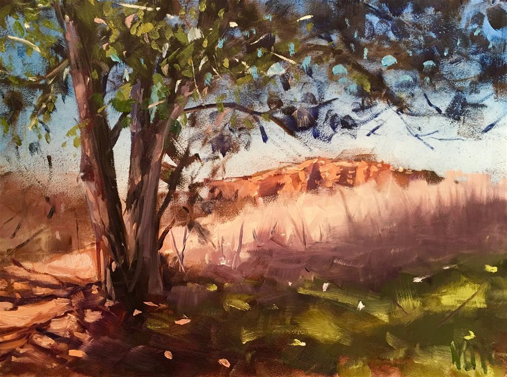 """#303 Sedona in the Distance"" original fine art by Patty Voje"