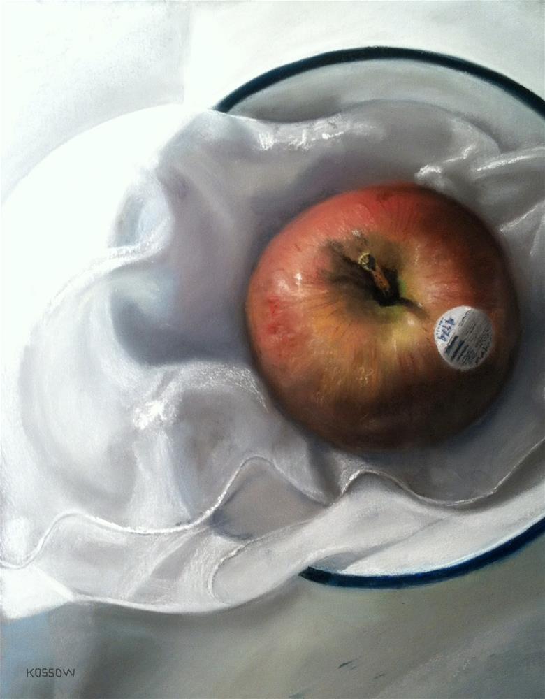 """Apple 4174"" original fine art by Cristine Kossow"