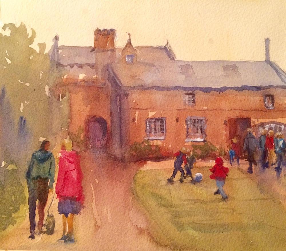 """Wells House - County Wexford"" original fine art by Katharine Engh"