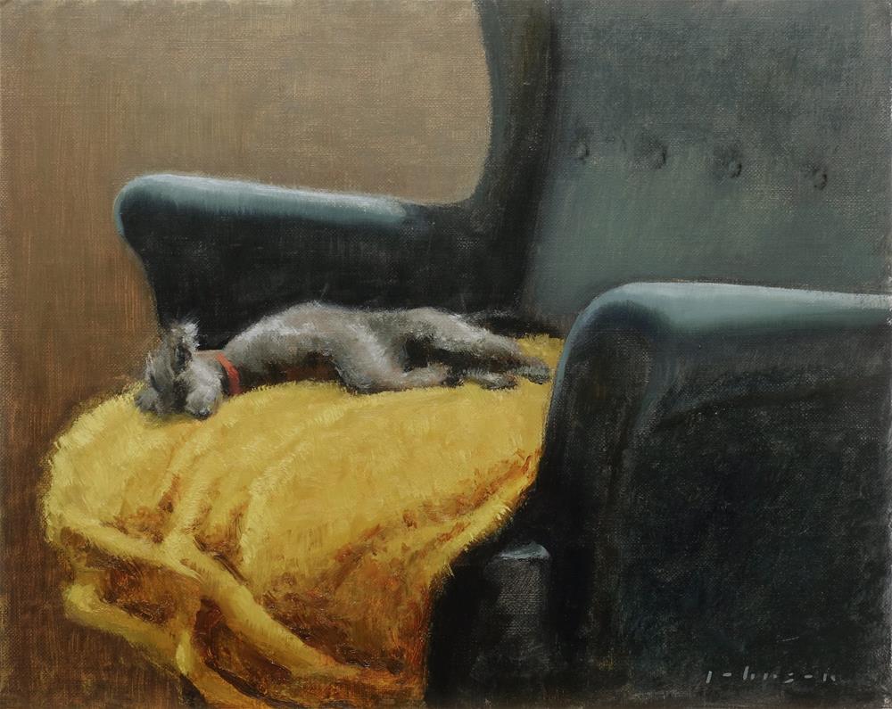 """Golden Slumbers"" original fine art by Dan Johnson"