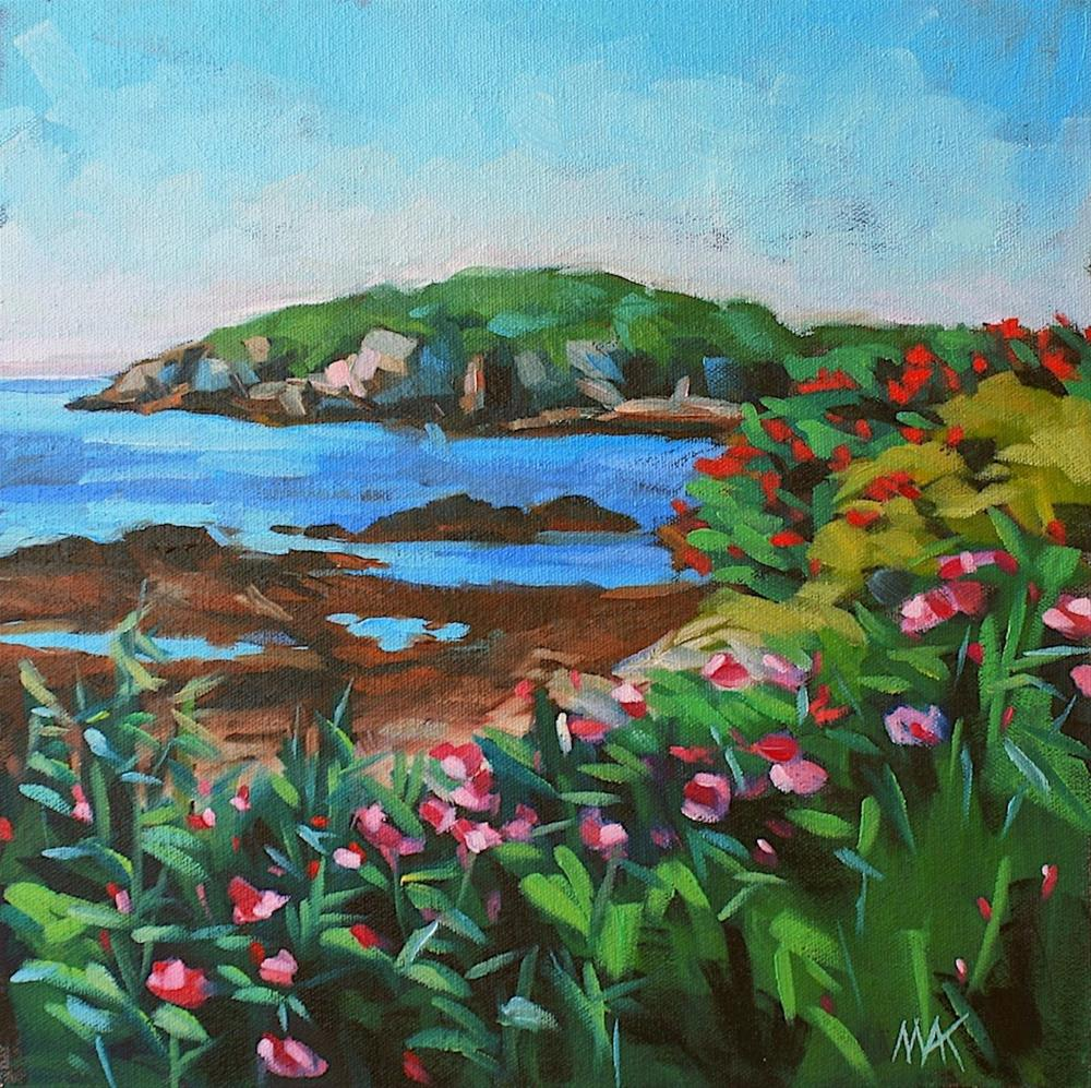 """""""Whitehead Passage 2"""" original fine art by Mary Anne Cary"""