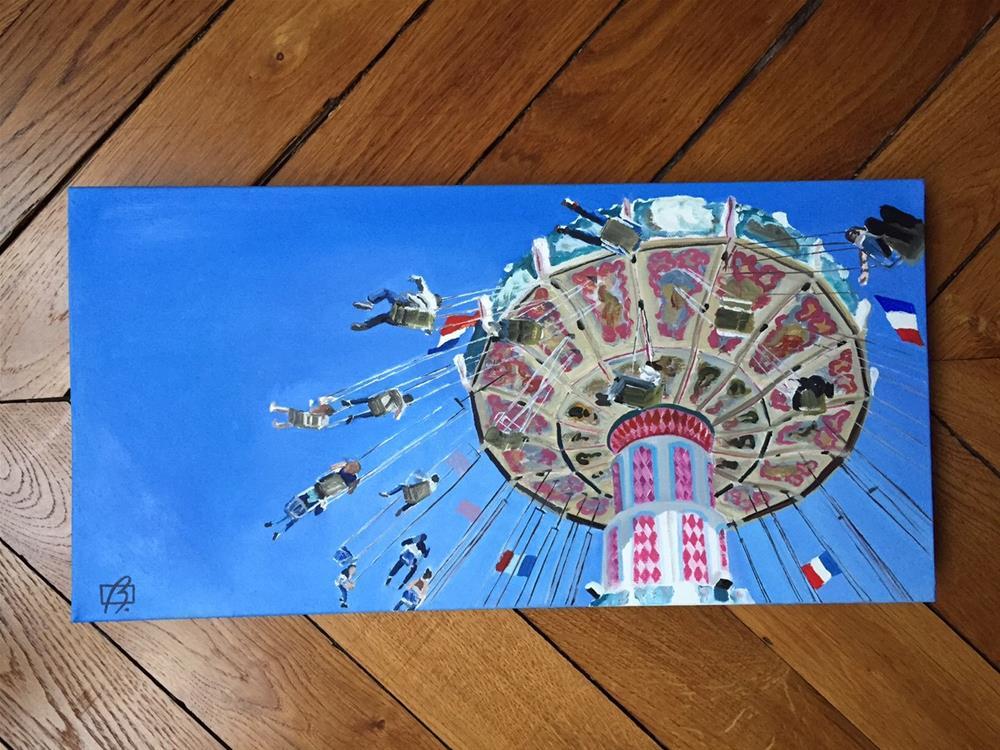 """""""Summer Ride"""" original fine art by Andre Beaulieu"""