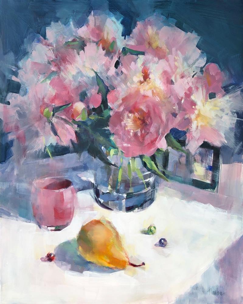 """LOVED ONES - American Art Company, Tacoma, WA"" original fine art by Barbara Benedetti Newton"