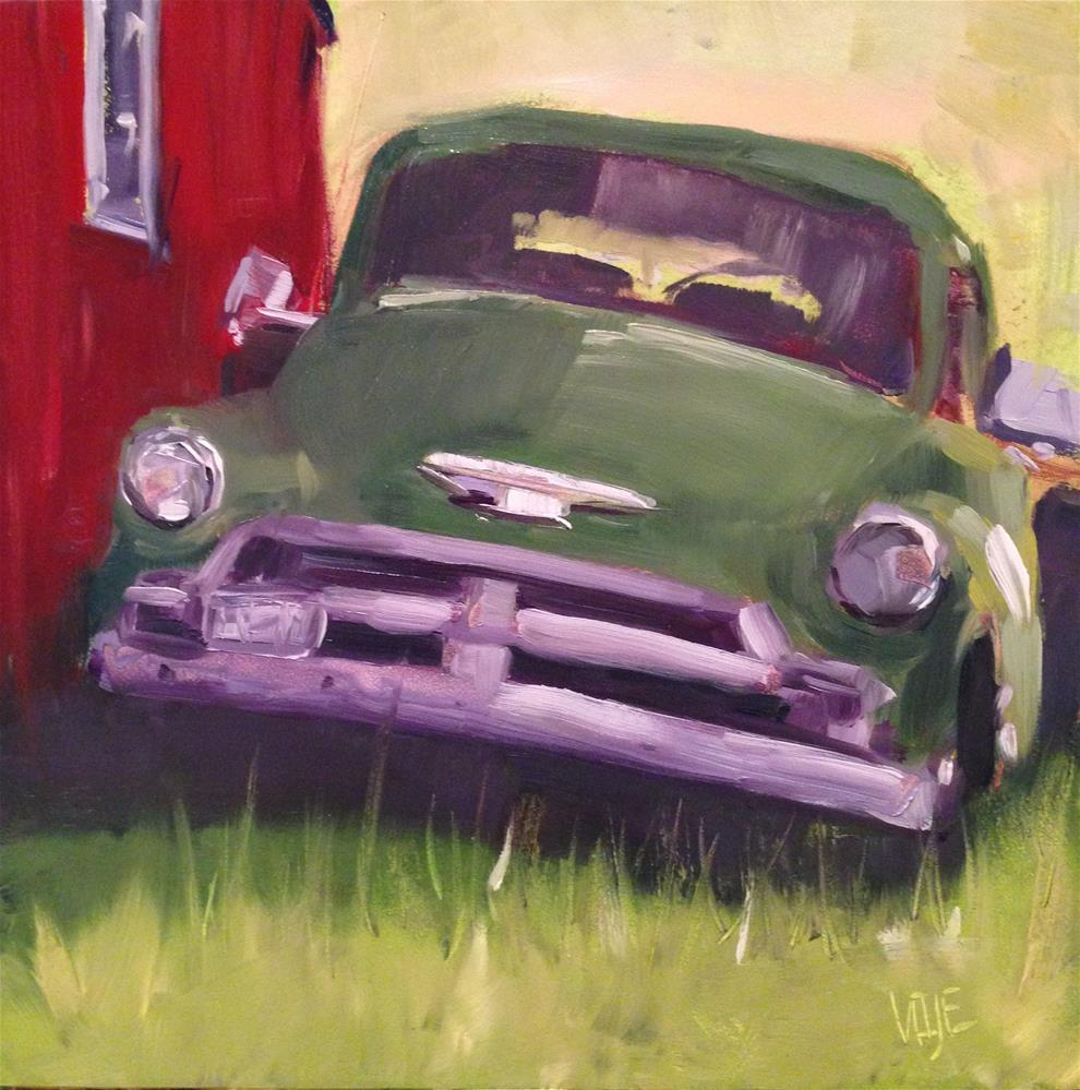 """""""#81 Out of Sight"""" original fine art by Patty Voje"""
