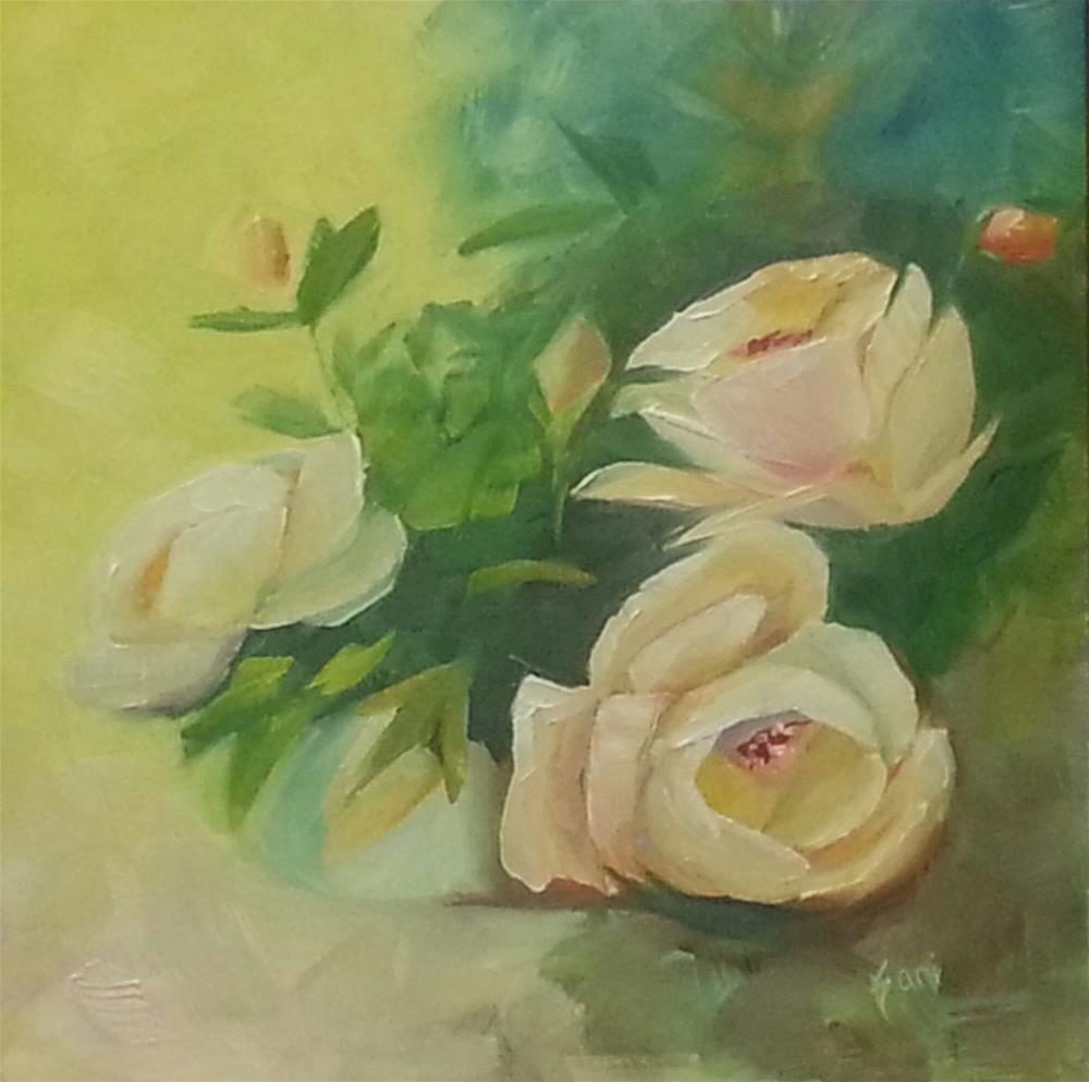 """Lady Trio"" original fine art by Kari Melen"