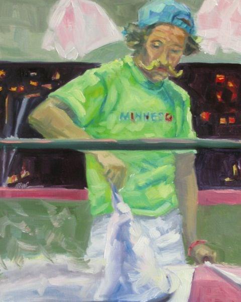 """CANDY MAN"" original fine art by Mb Warner"