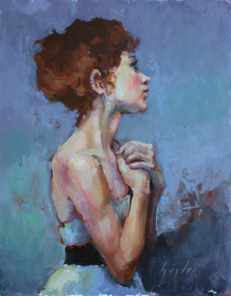 """""""Hopeful"""" original fine art by Julie Snyder"""