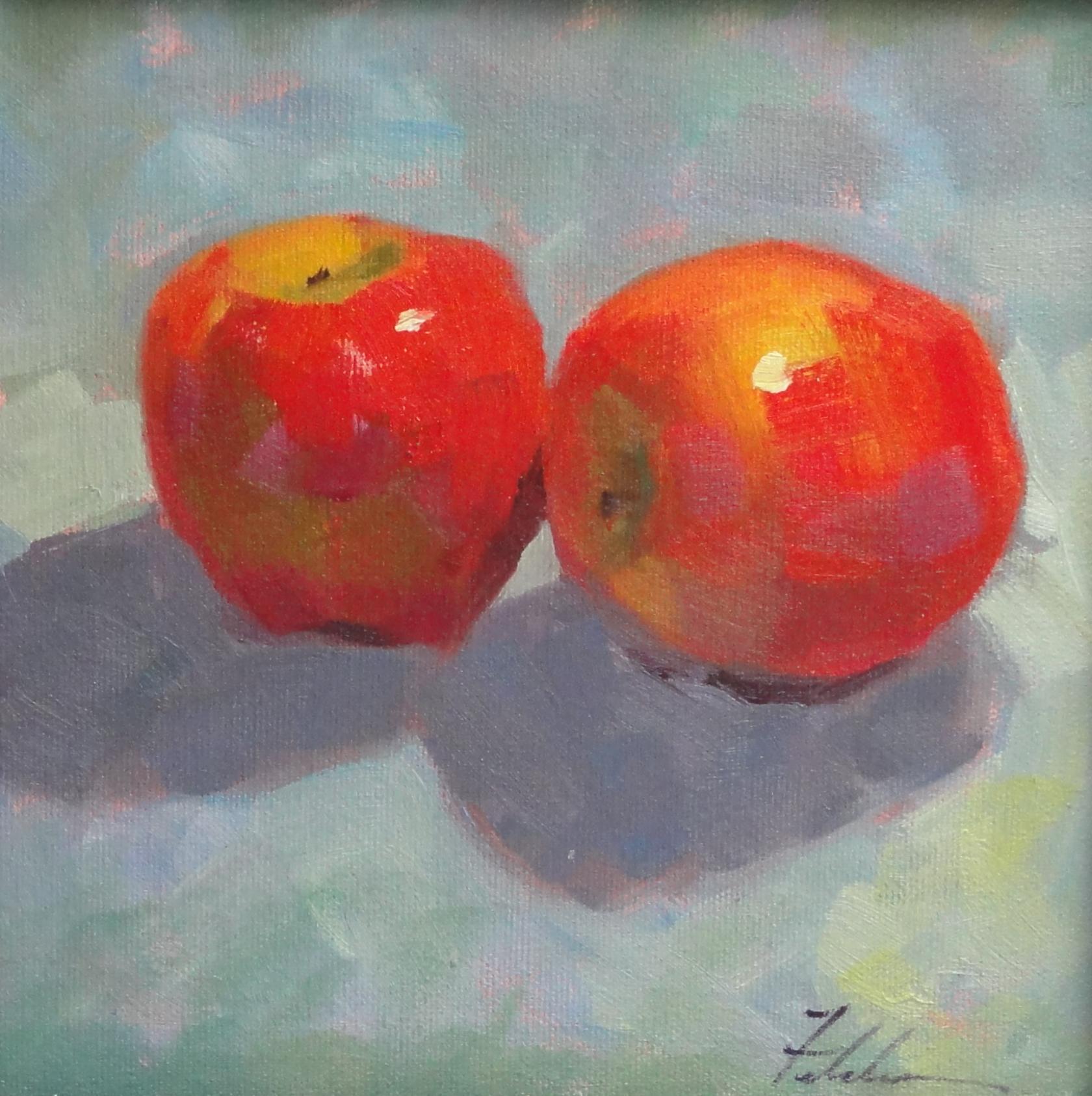 """The Pair Of Us"" original fine art by Ann Feldman"