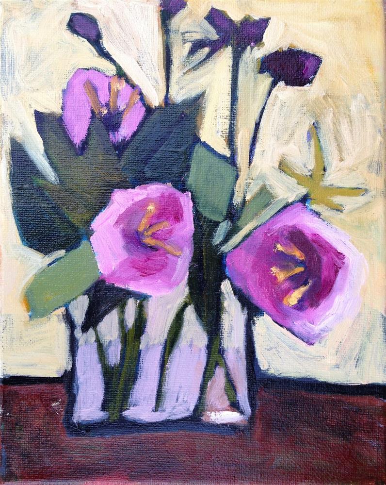 """Flowers For My New Studio"" original fine art by Pamela Hoffmeister"