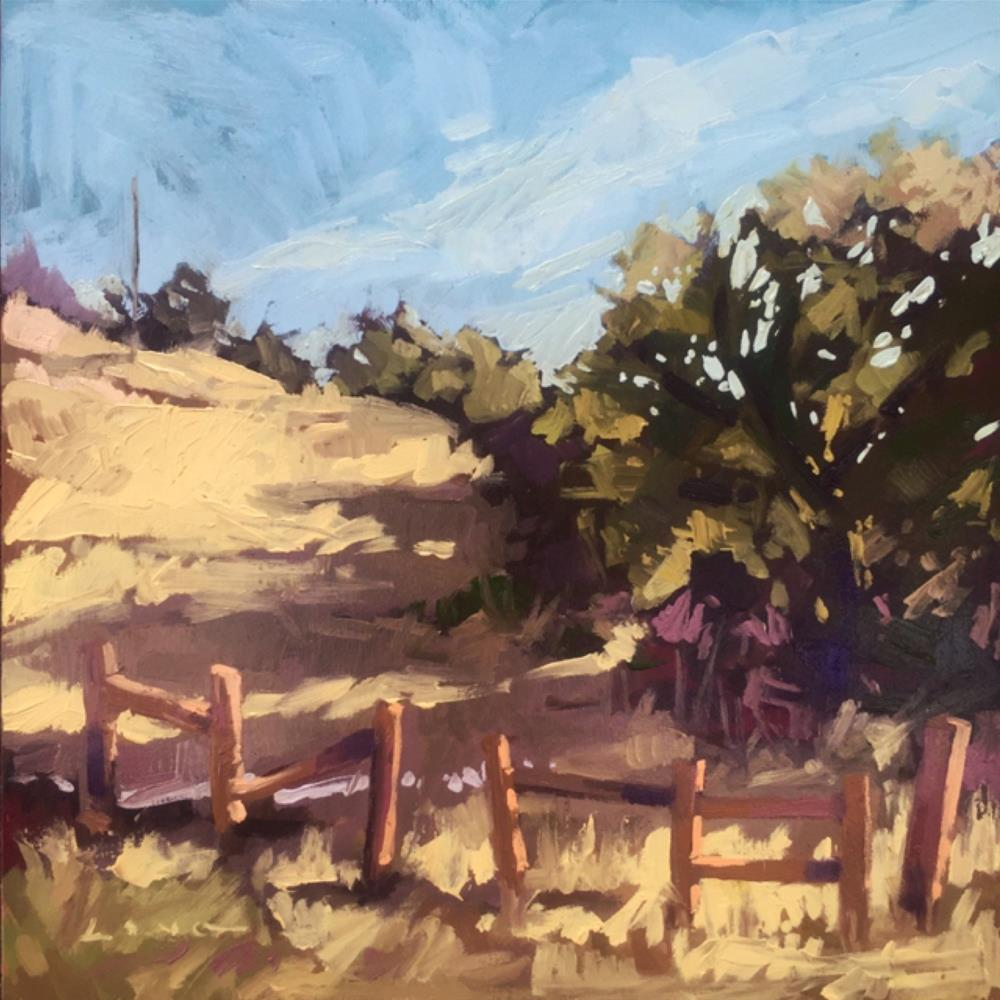 """Horse Farm"" original fine art by Chris Long"