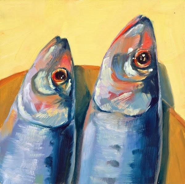 """Fish Out of Water"" original fine art by Brenda Ferguson"
