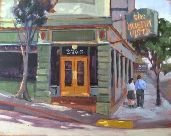 """Buena Vista"" original fine art by Deborah Newman"
