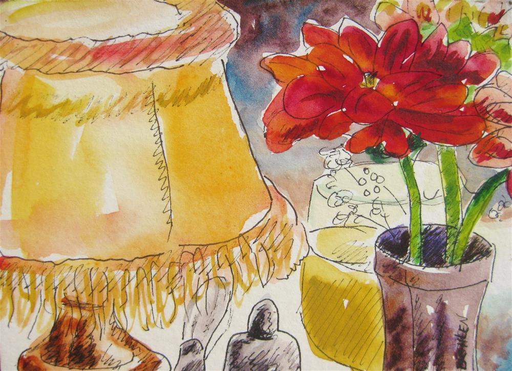 """A Light Sketch."" original fine art by Priscilla Bohlen"