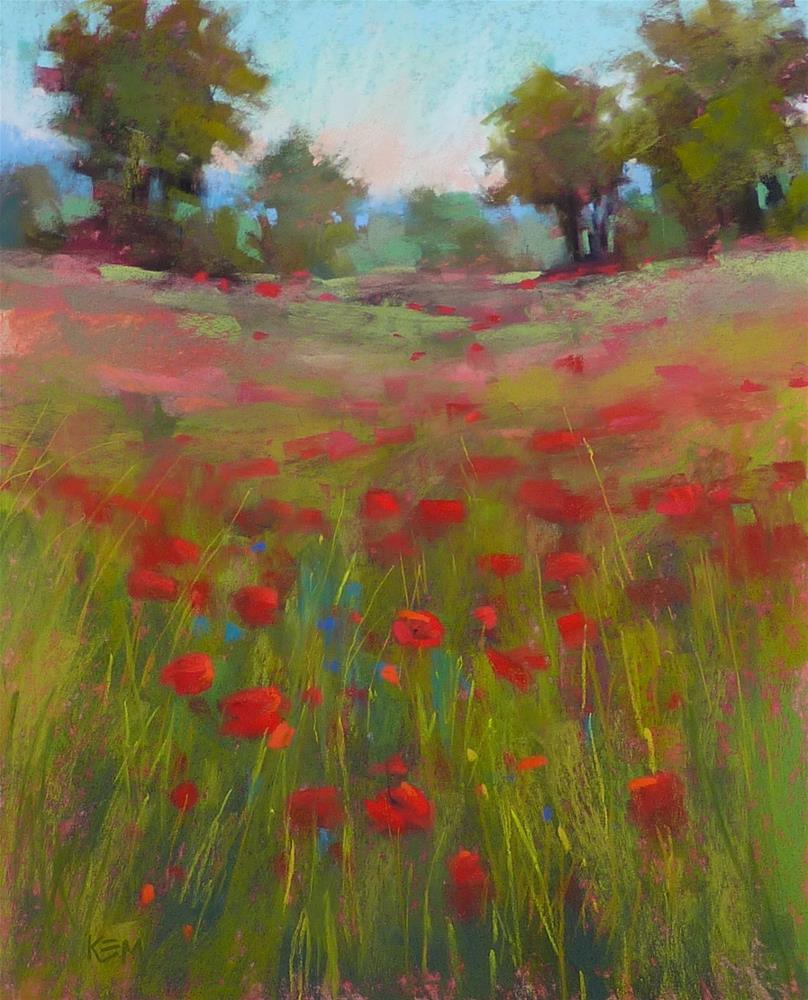 """""""What Happens to a Painting When you Make it Larger?"""" original fine art by Karen Margulis"""
