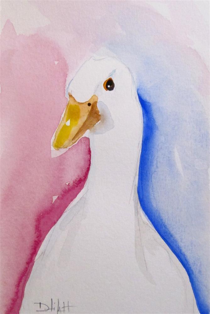 """Duck No. 5"" original fine art by Delilah Smith"