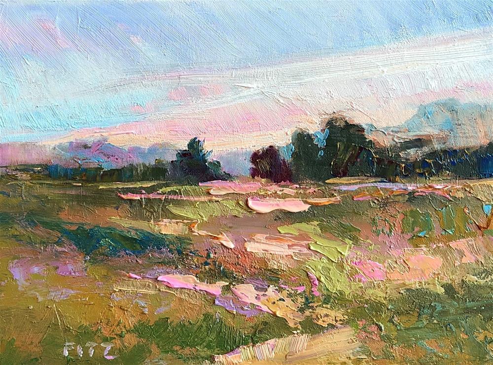 """Zigzag Light"" original fine art by Charlotte Fitzgerald"