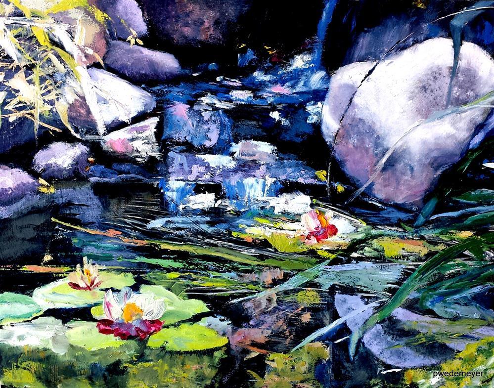 """""""A Monet Day"""" original fine art by Pamela Wedemeyer"""
