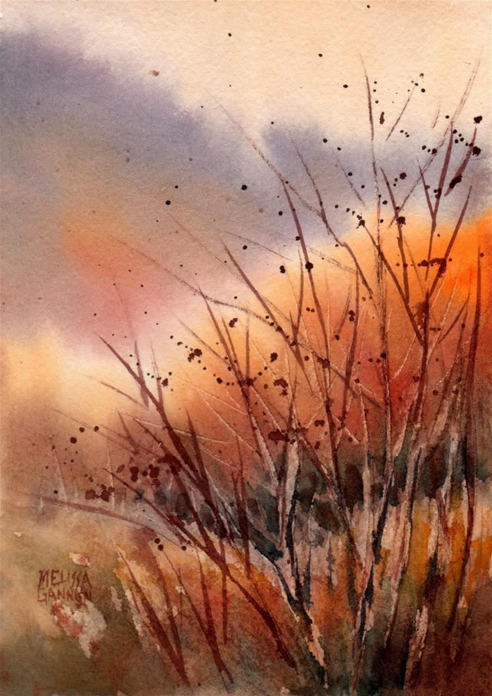 """Country Dance"" original fine art by Melissa Gannon"