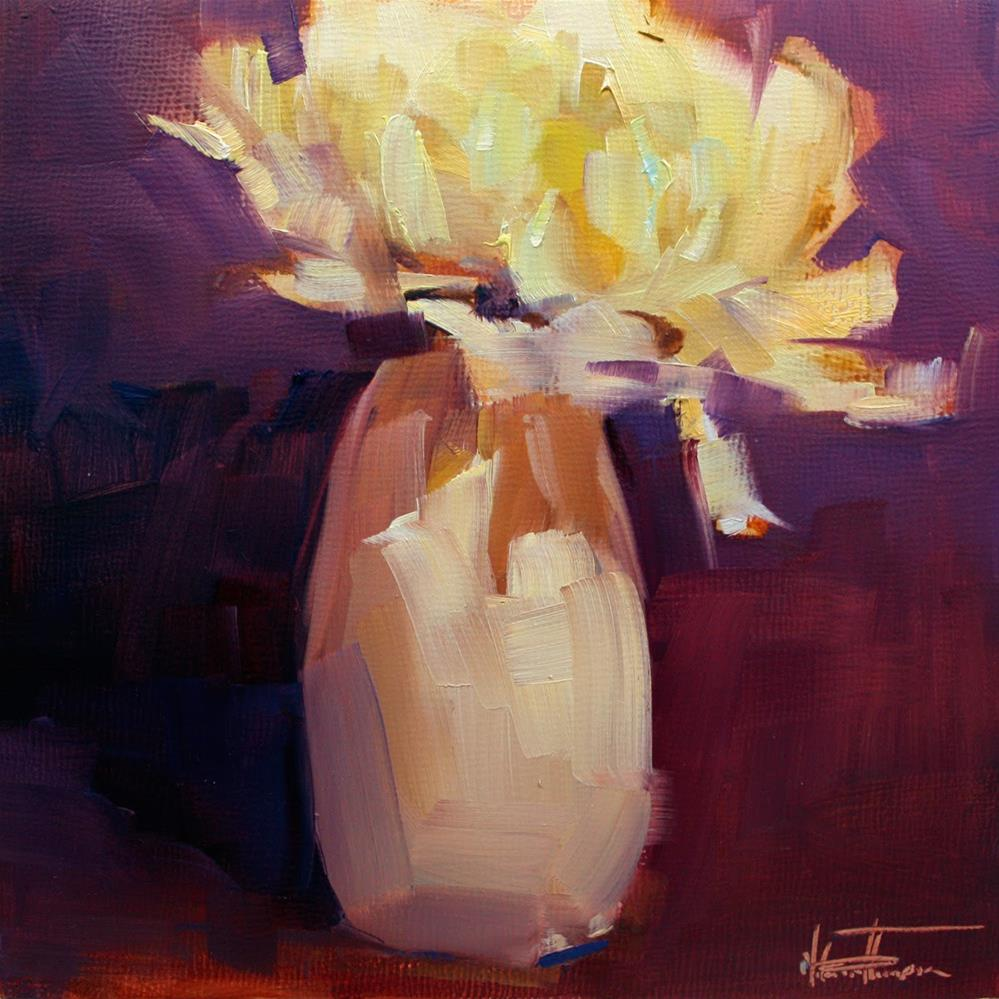 """Flower 2"" original fine art by Melanie Thompson"