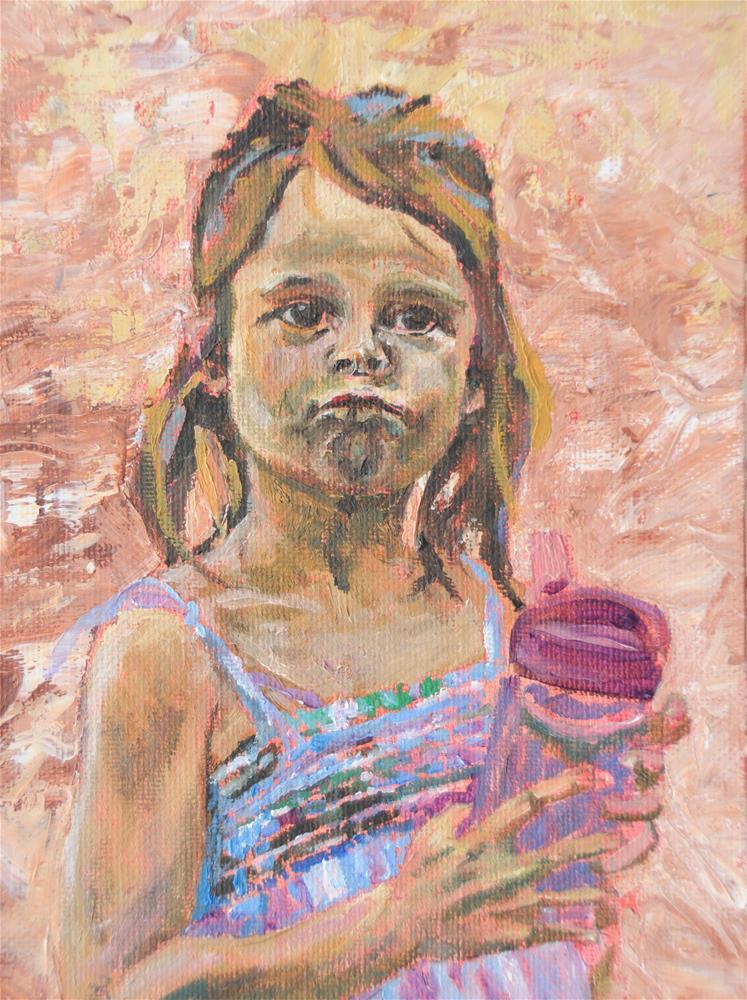 """Pout"" original fine art by Fred Jones"