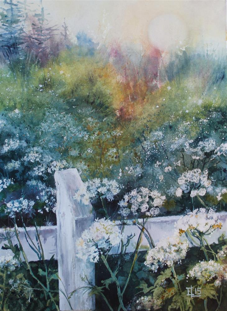 """""""Landscape From Tirva"""" original fine art by Emilia Leinonen"""