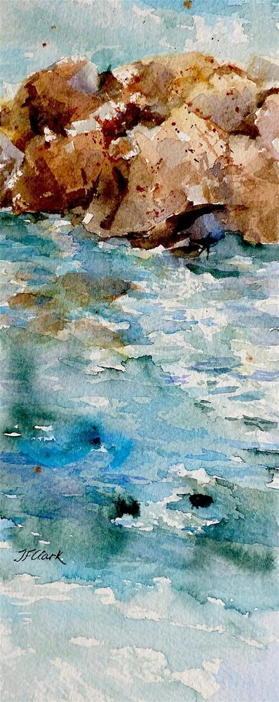 """Shallow Waters"" original fine art by Judith Freeman Clark"