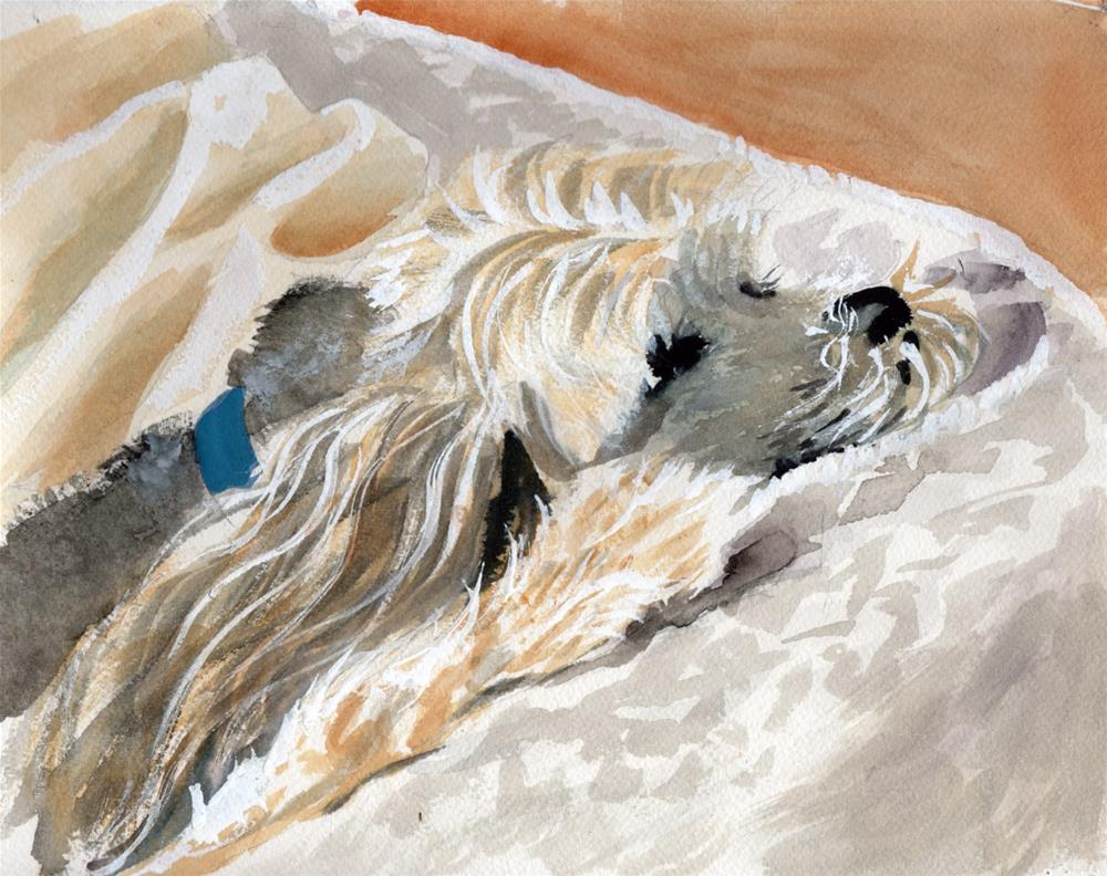 """""""Chilling"""" original fine art by Bunny Griffeth"""