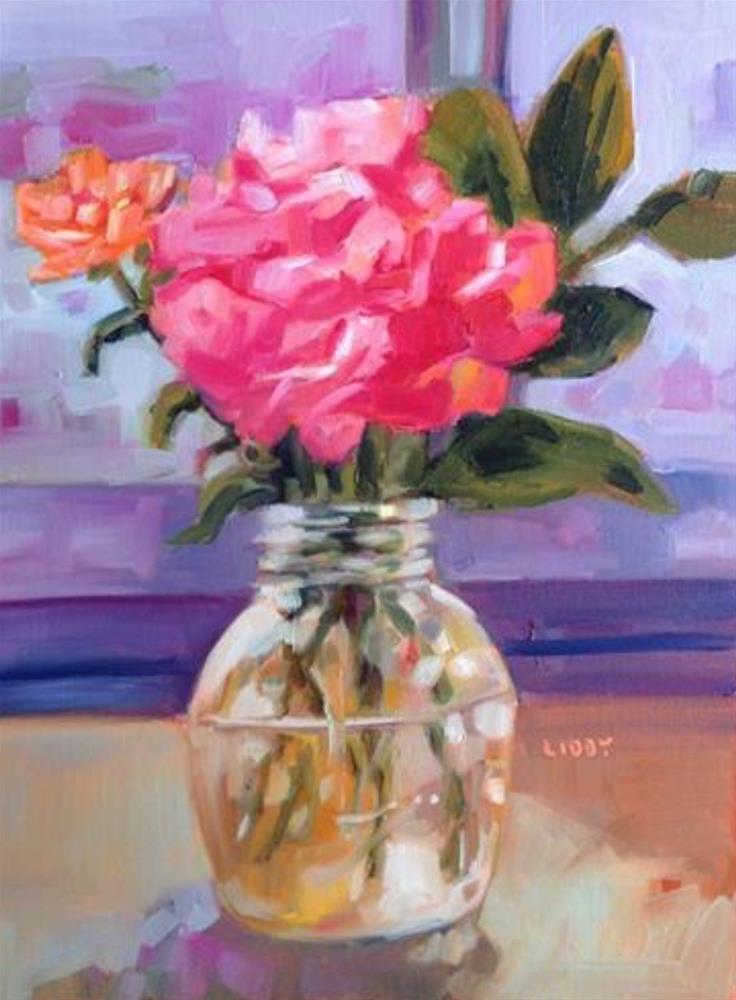 """Illuminated Morning"" original fine art by Libby Anderson"