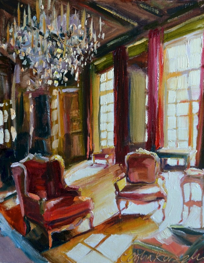 """""""BARON DE RODE"""" original fine art by Cecilia Rosslee"""