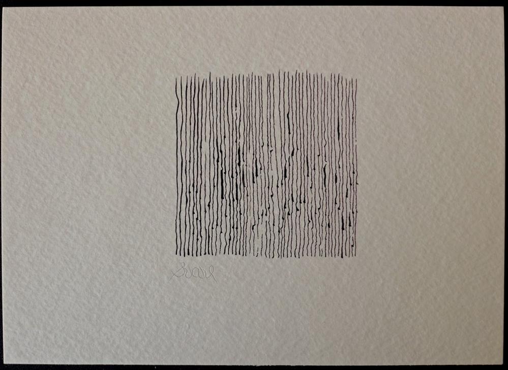 """COME TE RESPIRO ATTRAVERSO LE MIE BRANCHIE-- LIKE YOU I BREATHE THROUGH MY GILLS"" original fine art by Craig Svare"