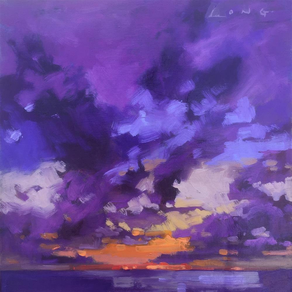 """Pacific Beach, WA"" original fine art by Chris Long"
