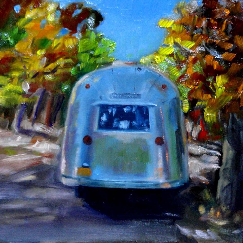 """""""September Song"""" original fine art by Cietha Wilson"""
