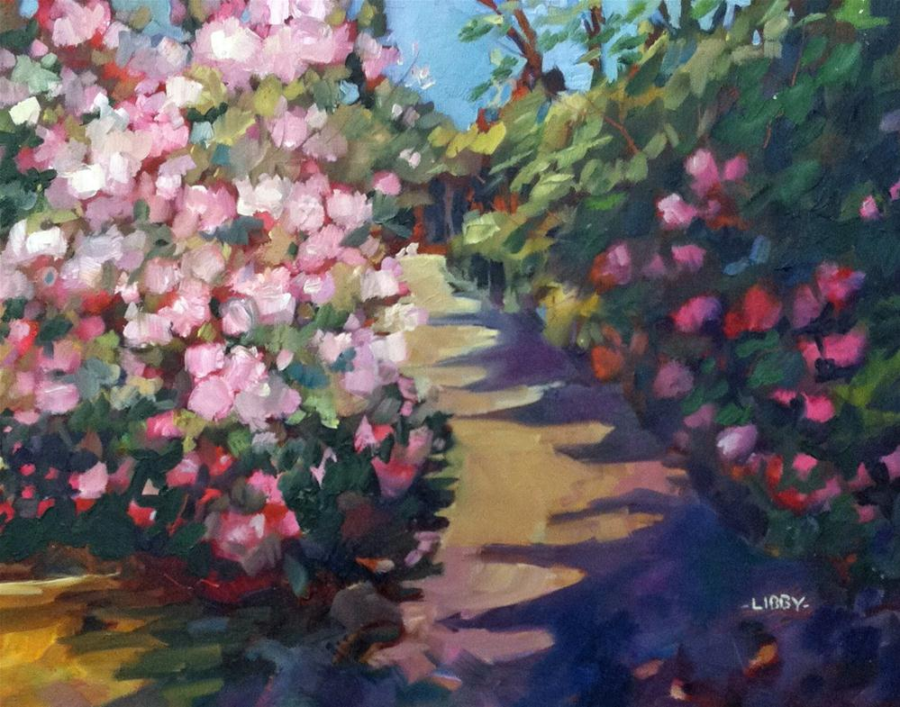 """Path at Longwood"" original fine art by Libby Anderson"