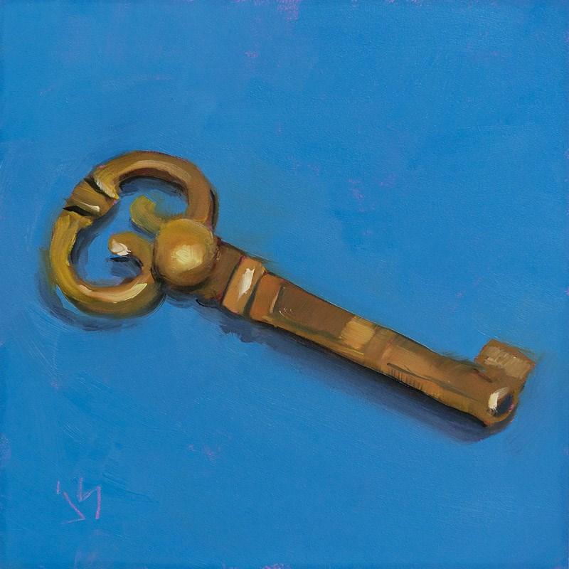 """""""The Key - Day 4"""" original fine art by Johnna Schelling"""