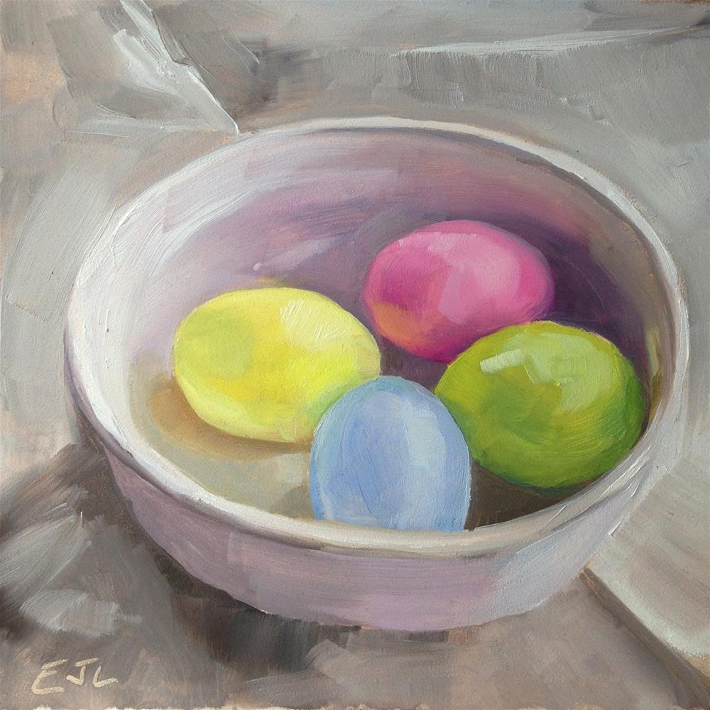 """My Kind of Spring Primaries..."" original fine art by Eric Larson"