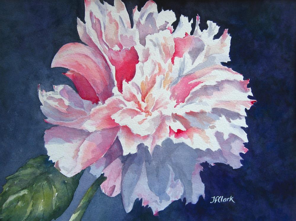 """Blossom Dearie"" original fine art by Judith Freeman Clark"