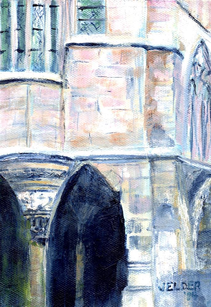 """Paris No. 19"" original fine art by Judith Elder"