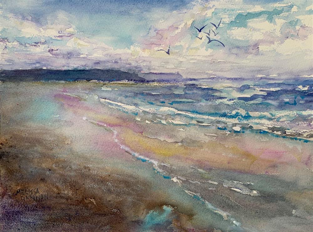 """Beach Energy"" original fine art by Melissa Gannon"