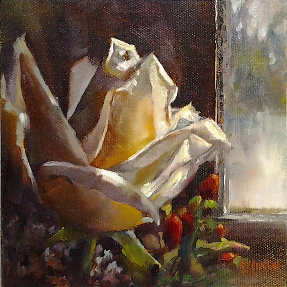 """Room With A View"" original fine art by A.K. Simon"